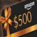 500 amazon gift card