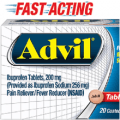 advil fast acting tablets