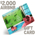 airbnb gift card 2000