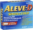 aleve d sinus and cold