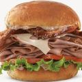 arbys triple thick brown sugar bacon sandwich