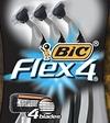 bic flex4 razors