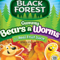 black forest gummy bears and worms