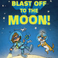blast off to the moon kids book