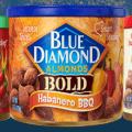 blue diamond almonds