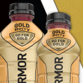 body armor gold bottle