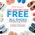 carters buy one get one free kids shoes