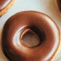 chocolate iced glazed donuts