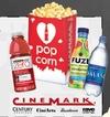 cinemark free popcorn