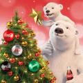 coca cola holiday bear