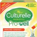 culturelle pro well probiotics