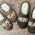 dearfoams hero bear slippers
