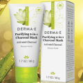 derma e purifying 2 in 1 charcoal mask