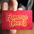 famous daves sweepstakes