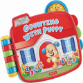 fisher price laugh and learn counting with puppy book