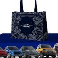 ford essence festival tote bag