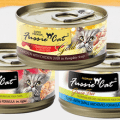 fussie cat food cans