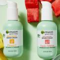 garnier green labs serum cream