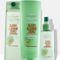 garnier sleek and shine zero hair care