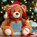 holiday gund teddy bear
