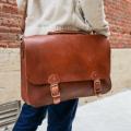 holtz leather messenger bag