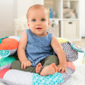 infantino 2 in 1 tummy time seated support
