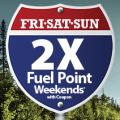 kroger 2x fuel point weekends