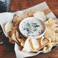 logans roadhouse chips and queso