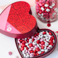 m and m valentines box