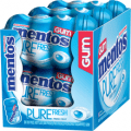 mentos pure fresh gum box