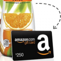 minute maid amazon gift card instant win game