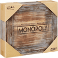 monopoly rustic wood
