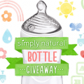 nuk simply natural baby bottle giveaway