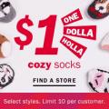 old navy 1 dollar cozy socks
