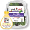 organic girl salad and dressing