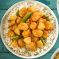 pei wei sweet and sour rice bowl