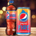 pepsi fire bottle