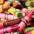 pile of crayola crayons