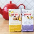 red rose blossom tea