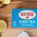 red rose iced tea