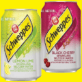 schweppes sparklings cans