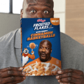 shaq and kelloggs frosted flakes