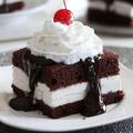 shoneys hot fudge cake