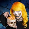 splat hair color halloween