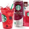 starbucks refreshers fruit energy drinks