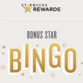 starbucks rewards bingo bonus star