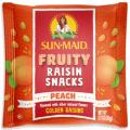 sunmaid fruity raisin snacks