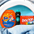 tide bounce laundry products