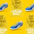 usain bolt sweater and shoes