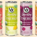 v8 sparkling energy drink